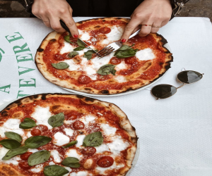 Enjoy you fine dining with authentic wood-fired pizza with your partner.