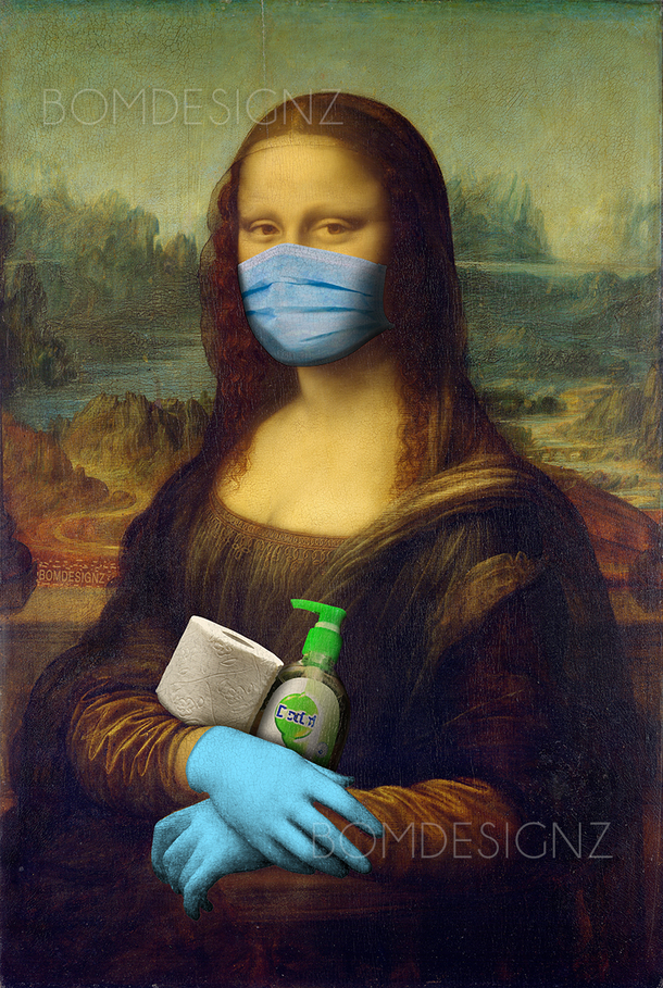 Mona Lisa- Famous Masterpiece Got viral in 2020